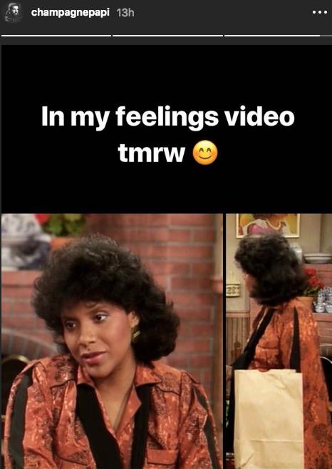 """Drake Hollers At Keke In New """"In My Feelings"""" Video"""