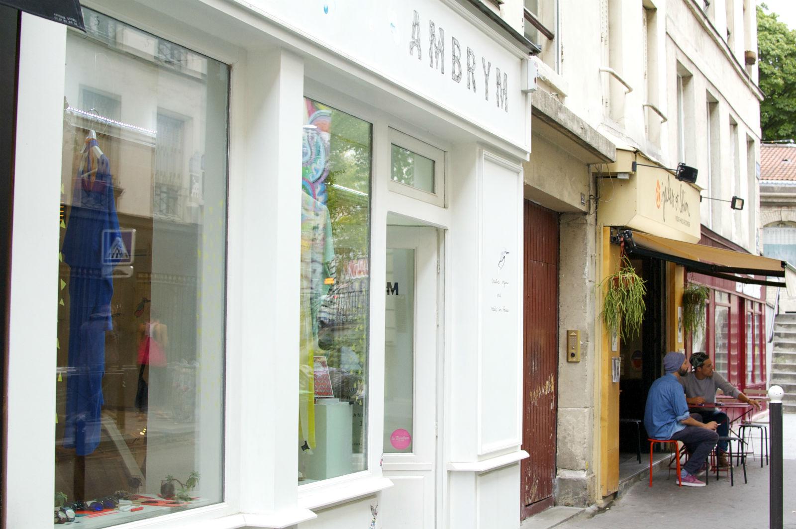 HiP Paris blog. Ambrym. Store location on Rue des Vinaigriers.