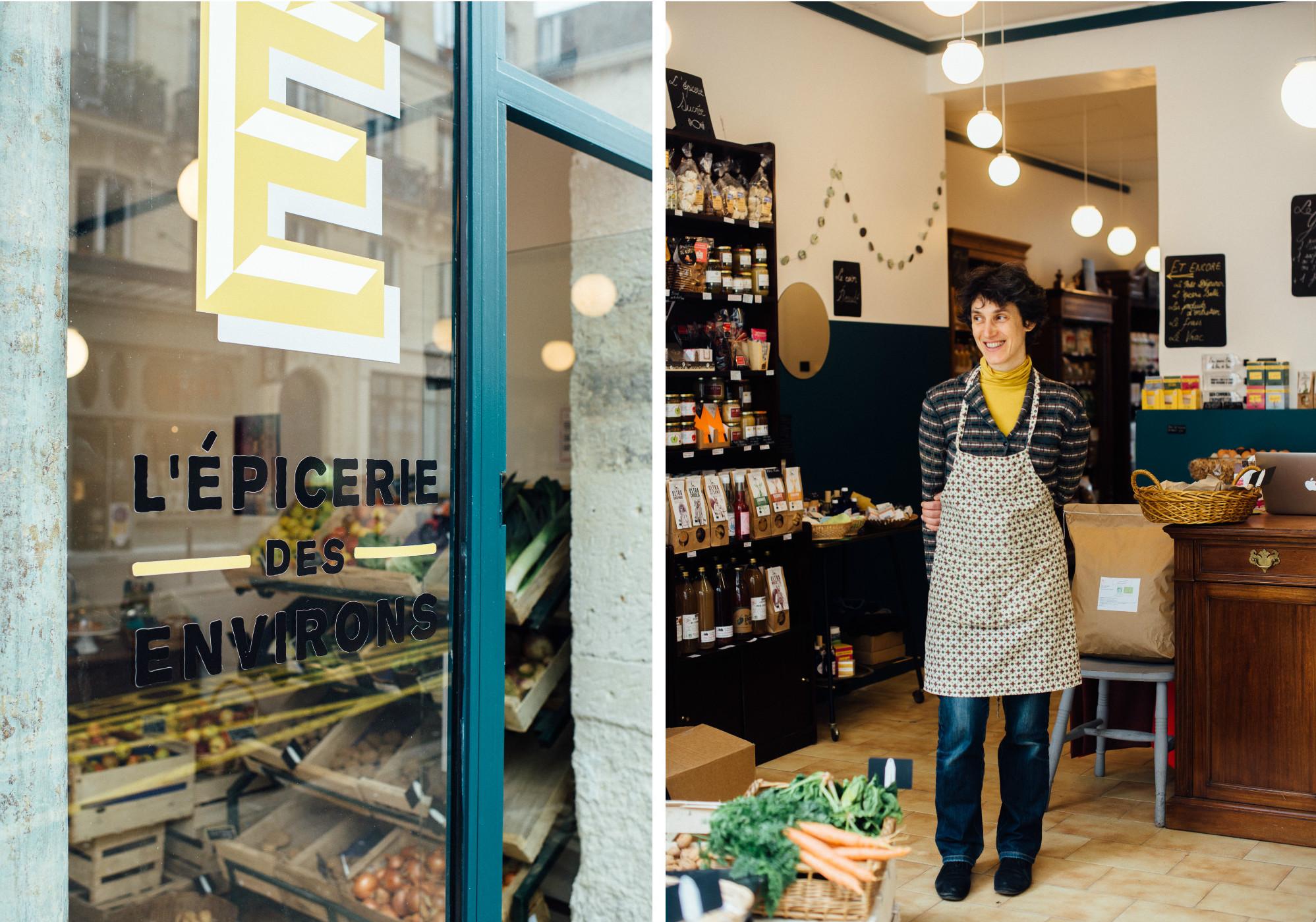 L'Epicerie des Environs: Local Grocery in Paris' 18th Arrondissement