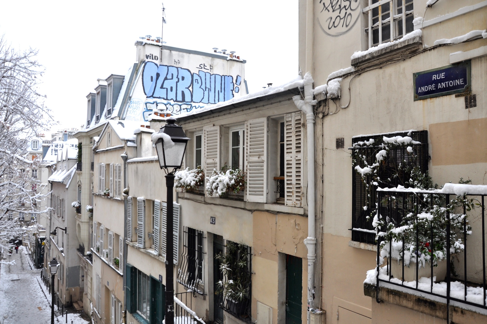 HiP Paris Blog covers the recent snowfall in Paris