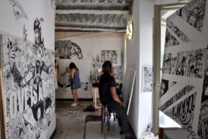 HiP Paris Blog discovers the many artist squats in Paris