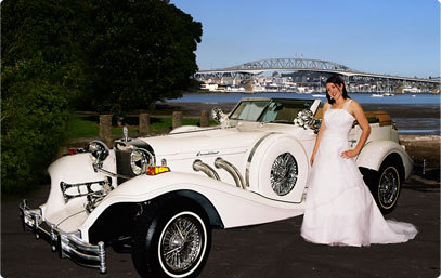 Bridal car hire for hire rent or rental in city centre auckland bridal car hire junglespirit