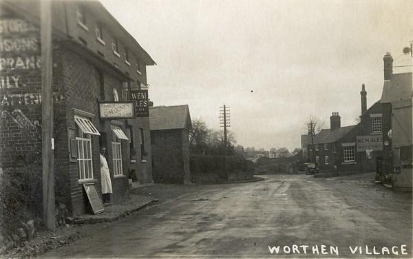 Pre-2nd world war view of Worthen
