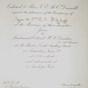 Invitation to London Wedding