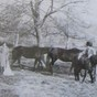 The Corbett family at Stableford Farm, Stableford, Worfield