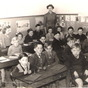 Infants class, Lutton school, Lincs.