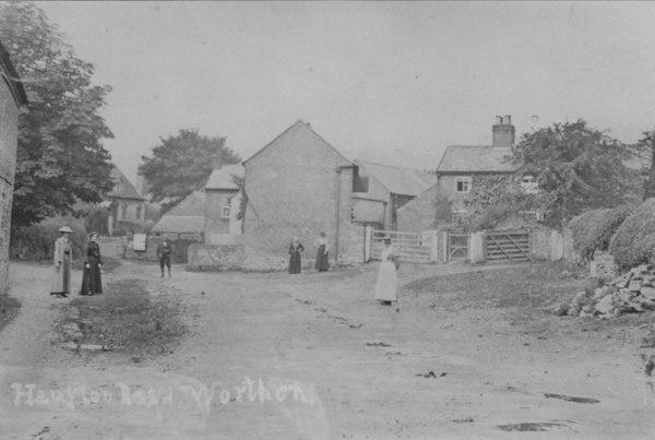 Back Lane, Worthen