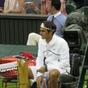 Roger Federer at Wimbledon Championships 2011
