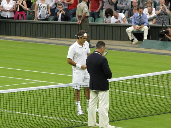 Roger Federer,Wimbledon Championships 2011
