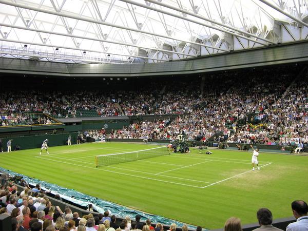 Wimbledon Championships 2011, Roger Federer Vs Adrian Mannarino