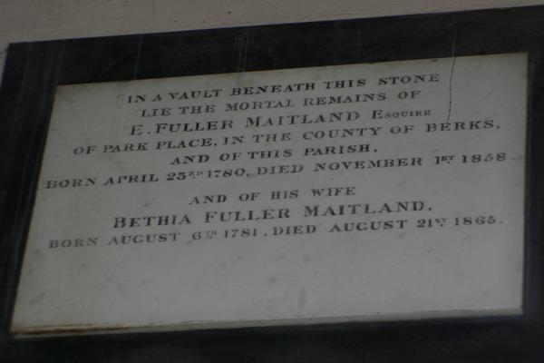 E Fuller Maitland and Bethia Fuller Maitland