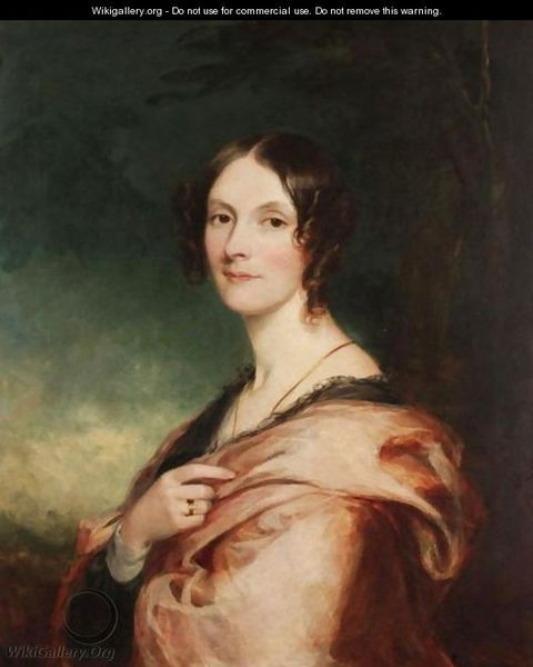 Portrait of a Lady by Sir Francis Grant (1803-1878)