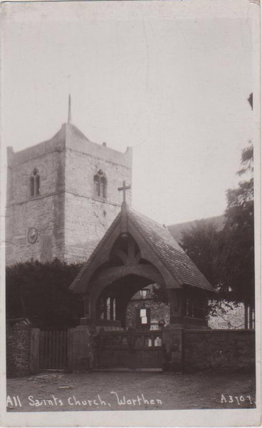 Lychgate of Worthen church