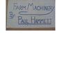 A History of Farm Machinery