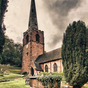 St Peter's Church, Worfield, Shropshire, HDR - Panoramic