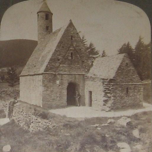 """St Kevins Kitchen"" Glendalough"