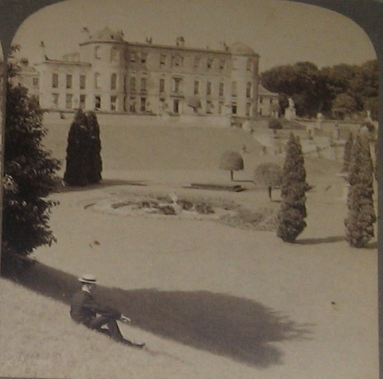 Powerscourt House showing the south facade