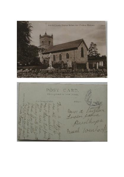 Parish Church Hopton Wafers