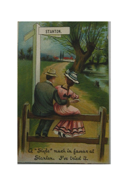 Romantic Postcard early 1900s