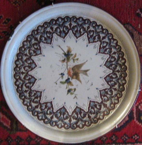 Enamel Tray thought to be by Thomas William Porter