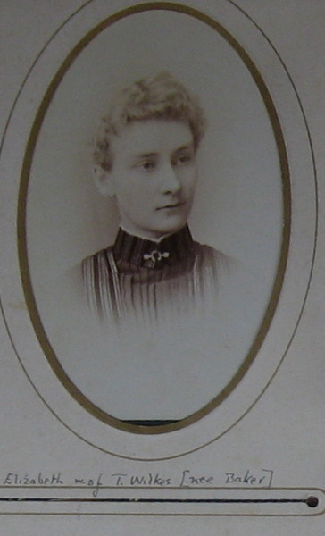 Elizabeth Wilkes nee Baker