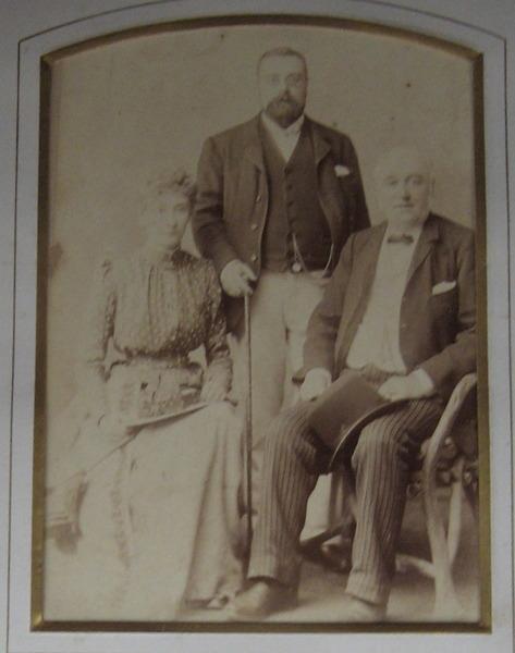 Thomas Wilkes, Elizabeth Wilkes and John Baker