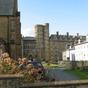 The old University Building Aberystwyth
