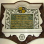 Plaque to Francis Laing Wolrych-Whitmore