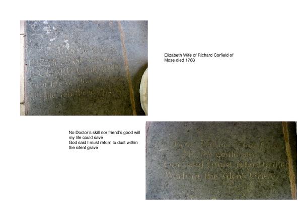 Tombstone Elizabeth Corfield
