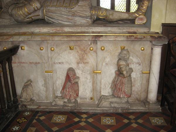 Francis Wolryche's Memorial In Quatt Church