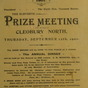 Prize Meeting Burwarton and District Farmers Club 1901