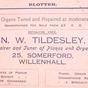 Norman Tildesley Advertising Blotter