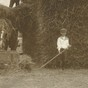 boy at haymaking