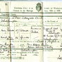 Marriage Certificate Gladys Banton
