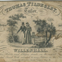 Thomas Tildesey Trade Card