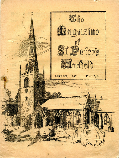 Worfield Parish Magazine August 1947