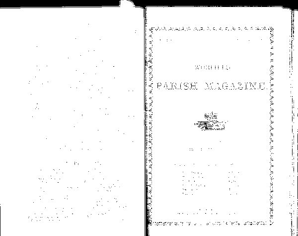 Worfield parish Magazine 1882