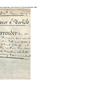 Surrender of land from John Hoccum to Caroline Nicholls