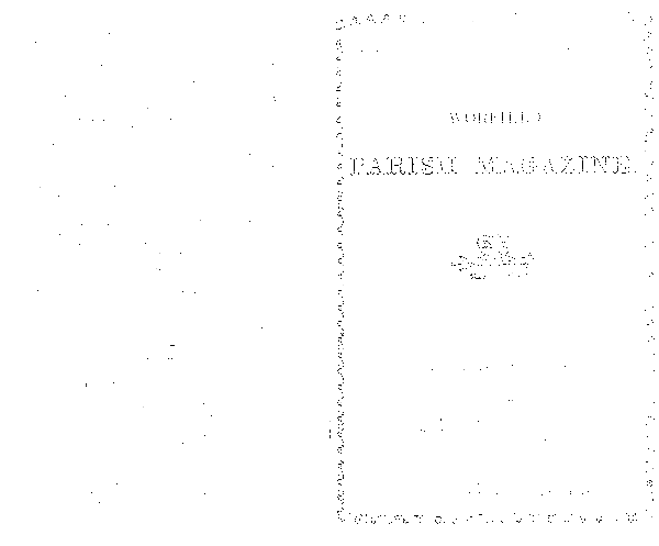 Worfield Parish Magazine 1883