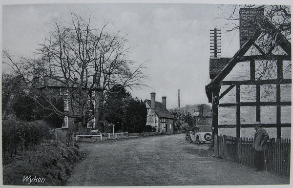 Postcard of Wyken, Worfield