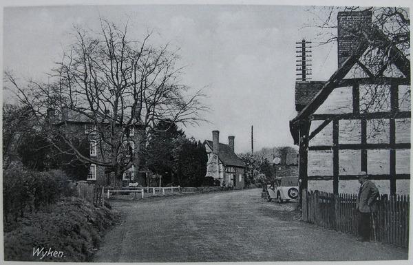 Postcard of Wyken, Worfield