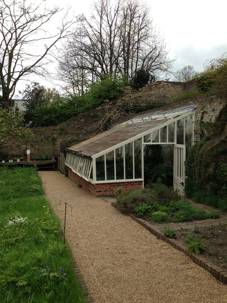 The green house, Fenton House and Garden