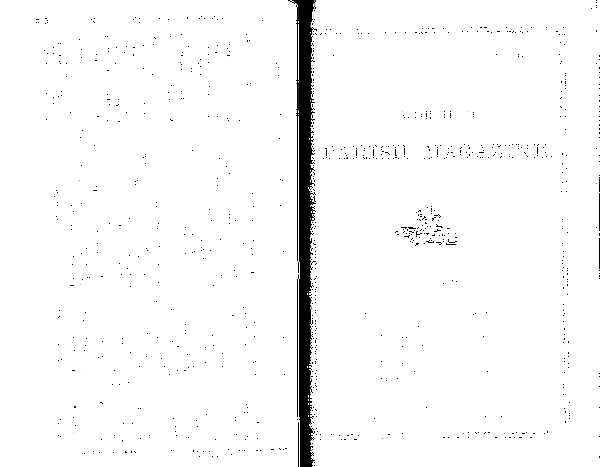 Worfield Parich Magazine 1888