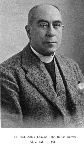 Reverend Arthur Edmund John Burton Barrow