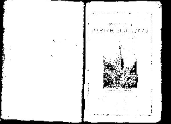 Worfield Parish Magazine 1895