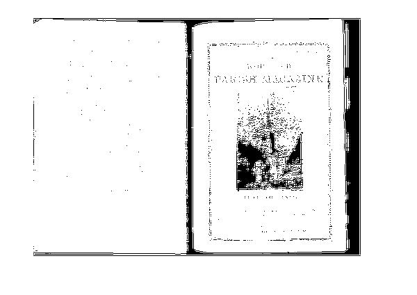 Worfield Parish Magazine 1900