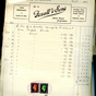 Worfield Invoices 1939