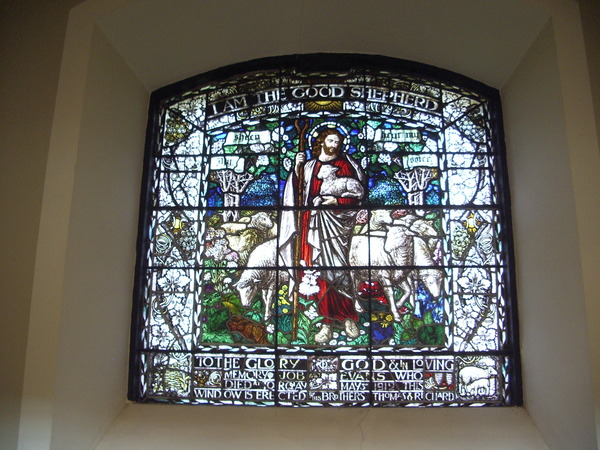 St Johns in the Square: Stained Glass Window