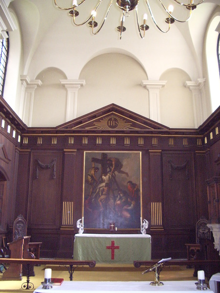 St Johns in the Square: Altar Painting