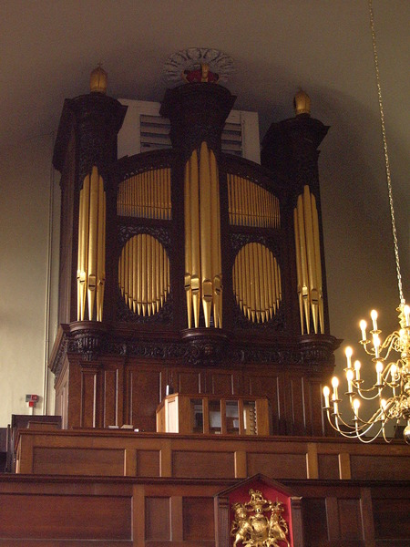 St Johns in the Square: Organ